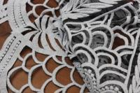 166045 Сетка вышивка D#1 цвет2