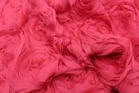 167087 Шифон Розы цвет6