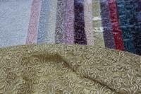 1815456 Сетка с вышивкой и паетками D#053