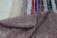 1815453 Сетка с вышивкой и паетками D#050