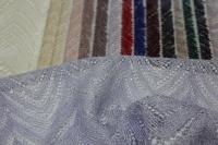 1815451 Сетка с вышивкой и паетками D#048